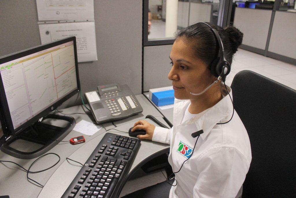 Photo of woman on DMWS helpline