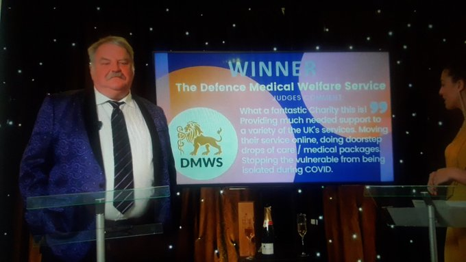 Defence Medical Welfare Service win Charity of the Year
