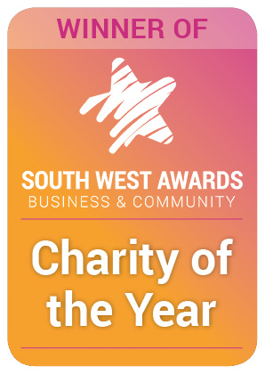 charity of the year DMWS badge