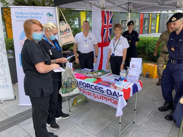 photo of DMWS staff Armed Forces Day 2021